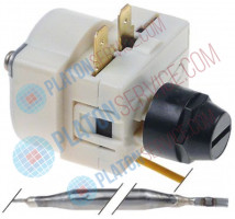 safety thermostat switch-off temp. 146°C 1-pole 1NC probe ø 6mm probe L 86mm capillary pipe 850mm