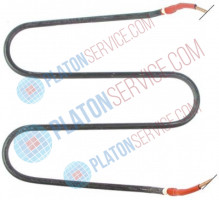 heating element 750W 115V L 185mm W 165mm H 18mm L1 15mm L2 143mm tube ø 6,3mm cable length 1150mm