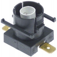 residual heat indicator single 240V connection male faston 6.3mm mounting ø 18mm