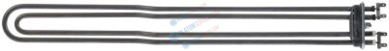 heating element 6000W 240V heating circuits 2 flange 70x18mm L 580mm W 65mm tube ø 8,5mm
