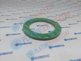 flat gasket fibre ED ø 57mm ID ø 42mm thickness 3mm Qty 1 pcs