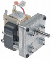 gear motor MERKLE type B3715UP-095 3,45W 230V 50Hz 10rpm shaft ø 8mm L 125mm W 70mm H 75mm