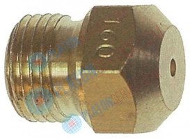 "gas injector thread 1/8"" WS 11 bore ø 1,6mm"