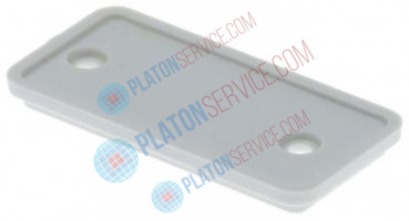 cover H 6mm W 27mm L 54mm plastic suitable for GGC1078 white