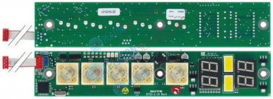 display PCB dishwasher  L 205mm W 40mm suitable for Wexiödisk