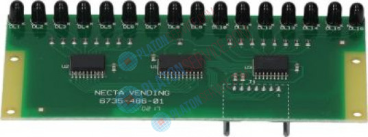 TRANSMITTING PHOTOCELL ELECTR.BOARD dimensions 123x52 mm