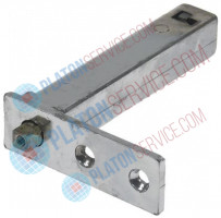 spring assisted hinge right/left L 74mm W 24mm H 104mm A 6mm B 12mm refrigeration units
