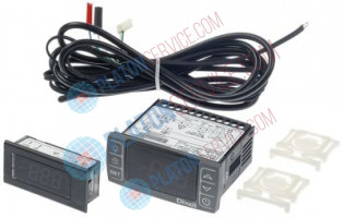 electronic controller kit for model GCV1600 DIXELL XR30CX-5N2C1 mounting measurements 71x29mm