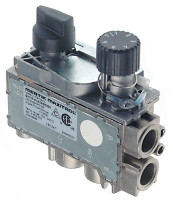 "gas thermostat MERTIK t.max. 195°C 100-195°C gas inlet bottom 3/8"" gas inlet lateral 3/8"""
