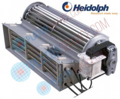 cross flow fan roller length 180mm roller ø 60mm motor position right 230V 50Hz 17W
