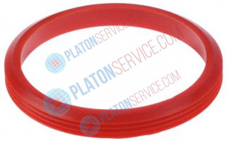 gasket for container D1 ø 160mm ID ø 135mm H 20mm silicone