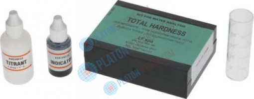 TOTAL HARDNESS ANALYSIS TEST KIT for all Freon gases CFC-HCFC-HF