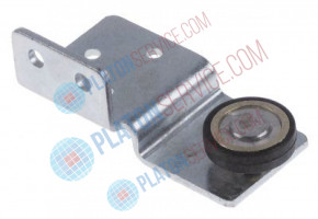 roller rollerø 22mm B1 6mm with holder SS/brass mounting pos.  bearing ball bearing Qty 1 pcs