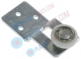 roller rollerø 22mm B1 6mm with holder SS/Nylon mounting pos. left door bearing ball bearing