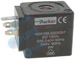 COIL PARKER XS 220/240V 50/60Hz 9W width 32 mm - height 37.3 mm