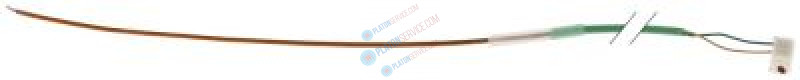 temperature probe thermocouple K (NiCr-Ni) cable silicone probe -50 up to 1150°C