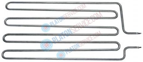 heating element 4500W 400V heating circuits 1 L 520mm W 239mm tube ø 8,5mm L1 45mm L2 472mm
