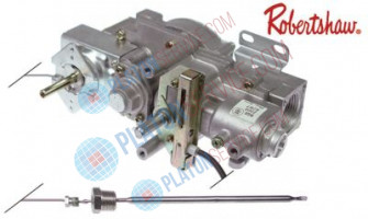 "gas thermostat type RGIST 2x160 t.max. 190°C 90-190°C gas inlet 3/4"" gas outlet 3/4"""