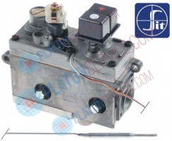 "gas thermostat SIT type MINISIT 710 t.max. 340°C 100-340°C gas inlet 1/2"" gas outlet 3/8"""