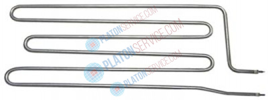 heating element 3000W 230V heating circuits 1 L 475mm W 176mm tube ø 8,5mm L1 45mm L2 430mm