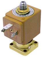 solenoid valve 3-ways 24 VAC DN 2,5mm slide-on receptacle DIN -10 up to 140°C