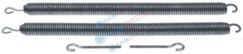 tension spring kit ø 32mm total length 565mm for hood