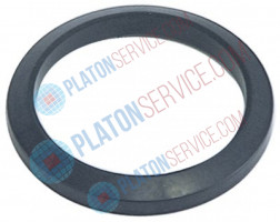 filter holder gasket with cone D1 ø 70,5mm D2 ø 56mm H1 8,9mm H2 5,8mm Qty 1 pcs