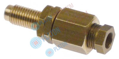 pilot burner bottom part bore ø 6mm